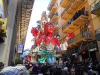 111ª edizione del Carnevale di Sciacca - sfilata corteo mascherato e dei gruppi dei carri allegorici - 6 marzo 2011  - Sciacca (1391 clic)