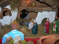 presepe - Mercatini di Natale - 4 dicembre 2010 CALTAGIRONE LIDIA NAVARRA