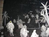 Il Presepe in Cotone - 4 dicembre 2010 CALTAGIRONE LIDIA NAVARRA