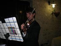 Petit Ensemble - Daniele (violino) - Baglio Strafalcello - 22 giugno 2010  - Castellammare del golfo (2629 clic)