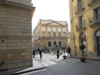 la Galleria Luigi Sturzo vista dalla Scala Santa Maria del Monte - 4 dicembre 2010 CALTAGIRONE LIDIA