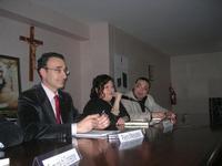 Presentazione del Connubio RizzoMani - Parole in Musica - Francesco Gallina e Donatella Piras - presso la Sala Convegni dell'Istituto Suore Francescane S. Chiara - 24 aprile 2010  - Corleone (3062 clic)
