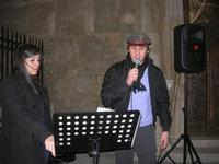cantanti in piazza Ciullo - 23 dicembre 2009   - Alcamo (2752 clic)