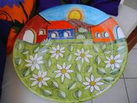 piatto in ceramica - Nino Parrucca - 27 agosto 2011  - Alcamo marina (1163 clic)