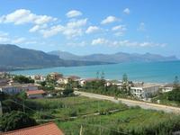 Zona Plaja - panorama del Golfo di Castellammare - 22 ottobre 2010  - Alcamo marina (1135 clic)