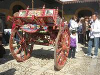 carretto siciliano - vecchio mercato - Infiorata 2010 - 16 maggio 2010  - Noto (3862 clic)