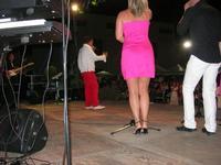 Nico dei Gabbiani - concerto - I SAPORI DELL'ESTATE - manifestazione organizzata dall'Associazione Socio-Culturale GUARRATO-FONTANASALSA - 8 agosto 2010  - Guarrato (2774 clic)