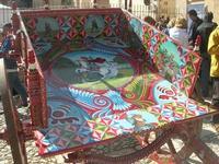 carretto siciliano esposto nel vecchio mercato - Infiorata 2010 - 16 maggio 2010  - Noto (4496 clic)