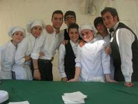Villaggio Garibaldino - alunni dell'Istituto Alberghiero Abele Damiani - 9 maggio 2010  - Marsala (6110 clic)