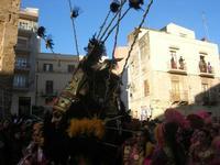 111ª edizione del Carnevale di Sciacca - sfilata corteo mascherato e dei gruppi dei carri allegorici - 6 marzo 2011  - Sciacca (1394 clic)