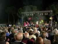Nico dei Gabbiani - concerto - I SAPORI DELL'ESTATE - manifestazione organizzata dall'Associazione Socio-Culturale GUARRATO-FONTANASALSA - 8 agosto 2010  - Guarrato (3006 clic)