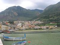 la città vista dal porto - 14 marzo 2010  - Castellammare del golfo (1567 clic)