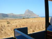 Golfo del Cofano dal trenino - 19 luglio 2010  - Castelluzzo (2671 clic)