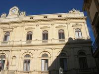 Il barocco Palazzo dei principi Interlandi Bellaprima o Palazzo dell'Aquila, oggi sede del Municipio - 4 dicembre 2010  - Caltagirone (1971 clic)