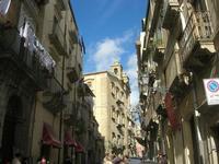 per le vie di Caltagirone - la città dei presepi - 4 dicembre 2010  - Caltagirone (1690 clic)