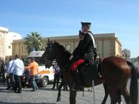 Carabinieri a cavallo - Infiorata 2010 - 16 maggio 2010  - Noto (2877 clic)