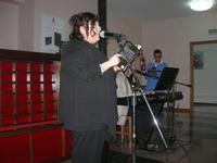 Presentazione del Connubio RizzoMani - Parole in Musica - Francesco Gallina e Donatella Piras - presso la Sala Convegni dell'Istituto Suore Francescane S. Chiara - 24 aprile 2010  - Corleone (3265 clic)