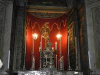 la Cattedrale Metropolitana della Santa Vergine Maria Assunta - interno: cappella di S. Rosalia - 8
