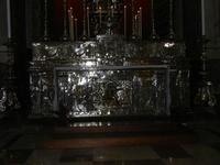 la Cattedrale Metropolitana della Santa Vergine Maria Assunta - interno: particolare della cappella