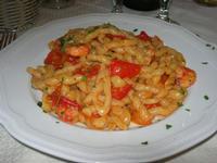 busiate con pomodorini e gamberi - La Cambusa - 12 settembre 2010  - Castellammare del golfo (2540 clic)