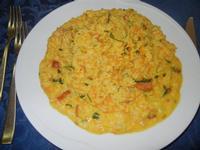 risotto al Quadrifoglio, con speck, carota, cipolla, sedano e panna - 23 ottobre 2011  - Santa ninfa (791 clic)