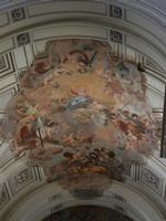 la Cattedrale Metropolitana della Santa Vergine Maria Assunta - interno - volta presbiterio: Assunz