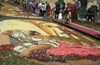 Infiorata 2010 - Bozzetti ispirati al tema: Musica dipinta: le forme e i colori della musica - LO STUDIOLO - Via Nicolaci - 16 maggio 2010   - Noto (2707 clic)