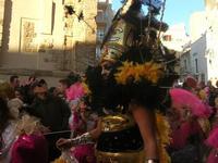 111ª edizione del Carnevale di Sciacca - sfilata corteo mascherato e dei gruppi dei carri allegorici - 6 marzo 2011  - Sciacca (1426 clic)