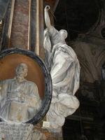 Chiesa SS. Matteo e Mattia Apostoli o Chiesa di San Matteo al Cassaro - interno: La giustizia di G