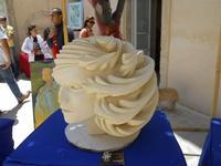 Cortile ex Collegio dei Gesuiti - mostra quadri e sculture - 16 maggio 2010  - Noto (4380 clic)