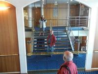 Mar Tirreno - a bordo della nave La Suprema - Grandi Navi Veloci - giochi di specchi  - 13 ottobre 2011  - Palermo (1313 clic)