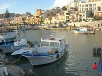 il paese visto dal porto - 21 febbraio 2010   - Marinella di selinunte (4508 clic)