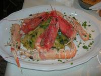 tagliatelle con scampi, gamberi e zucchine - La Cambusa - 2 novembre 2010  - Castellammare del golfo (2210 clic)