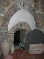 Antica Fornace Sant'Angelo - interno - 12 agosto 2010  - Salemi (1614 clic)