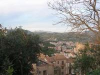 panorama della città - 9 gennaio 2011  - Salemi (1178 clic)