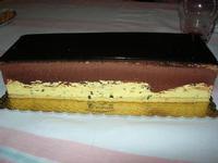 tronchetto gelato semifreddo con cioccolato e zuppa inglese - 31 agosto 2010  - Chiusa sclafani (7151 clic)