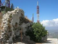 antenne in cima al Monte Bonifato - 25 luglio 2010  - Alcamo (1694 clic)