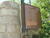 Castello di Rampinzeri - cartello turistico - 6 giugno 2010  - Santa ninfa (2410 clic)