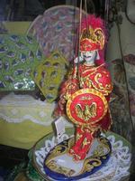 ceramiche in vetrina: pupo siciliano - Carlo Magno - 1 gennaio 2011  - Erice (2189 clic)