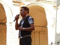 Spettacolo multietnico UNA SOLA FAMIGLIA UMANA nel cortile del Collegio dei Gesuiti - 19 giugno 2011  - Sciacca (607 clic)