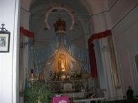 Chiesa di San Francesco all'Immacolata - interno - 4 dicembre 2010 CALTAGIRONE LIDIA NAVARRA