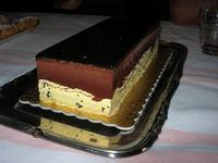 tronchetto gelato semifreddo con cioccolato e zuppa inglese - 31 agosto 2010  - Chiusa sclafani (10570 clic)