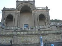 sul trenino turistico - visita alla città - Il Teatrino, Museo della Ceramica - 4 dicembre 2010 CALT