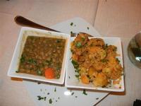 antipasti: zuppa di lenticchie - broccoli alla palermitana - Busith - 1 gennaio 2012  - Buseto palizzolo (721 clic)