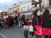 Carnevale - sfilata carri allegorici - 8 marzo 2011  - Cinisi (2424 clic)