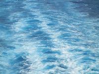 Mar Tirreno - a bordo della nave La Superba - Grandi Navi Veloci - scia - 21 ottobre 2011 PALERMO LI