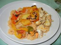 cous cous di pesce e verdure - Aloha - 29 luglio 2011  - Alcamo marina (1045 clic)