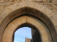 Castello Arabo Normanno - l'ingresso - 9 gennaio 2011  - Salemi (1050 clic)