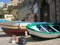 barche in secca - Via Don L. Zangara - 7 settembre 2010  - Castellammare del golfo (1086 clic)