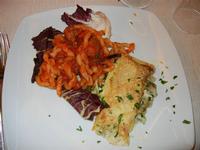 primi piatti: brucoli con stufato alla siciliana - girelle con crema di ricotta e carciofi - Busith - 1 gennaio 2012  - Buseto palizzolo (731 clic)